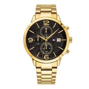 NEW Tommy Hilfiger casual metal watch for men